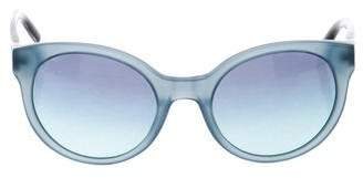 Tory Burch Logo Cat-Eye Sunglasses