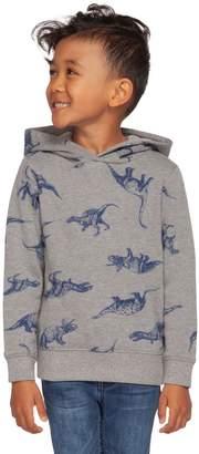 Dex Little Boy's Dino-Print Cotton Blend Hoodie