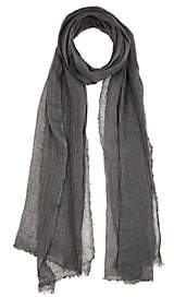 From The Road FROM THE ROAD MEN'S LINEN SCARF - BLUE
