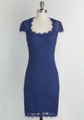 Jump Design Group Inc. How Does Sheath Do It? Dress in Cobalt $79.99 thestylecure.com