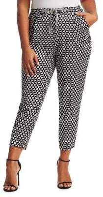 Marina Rinaldi Marina Rinaldi, Plus Size Ranch Geometric-Print Pants