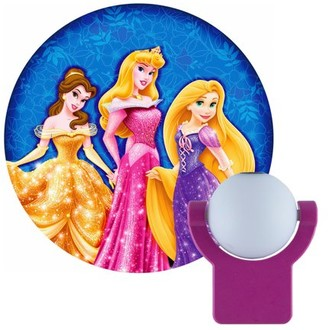 Disney Projectables Princesses LED Plug-In Night Light, Belle, Aurora, and Rapunzel Image, 11744