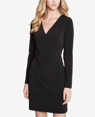 Karen Kane Faux-Wrap Sheath Dress
