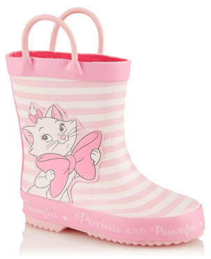 CAT George Disney The Aristocats Marie Pink Wellington Boots