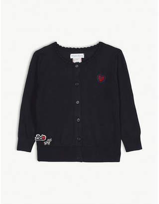 Ralph Lauren Patches cotton cardigan 3-24 months
