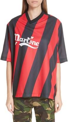 Martine Rose Twist Football Top