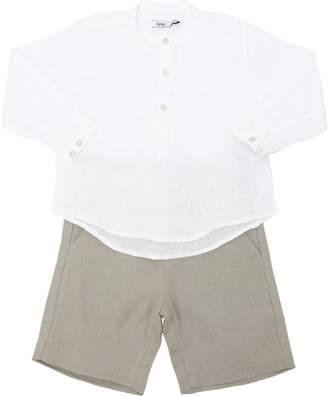 Linen Shirt & Shorts