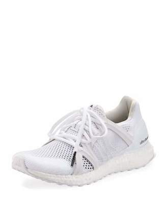adidas by Stella McCartney Ultraboost Knit Trainer Sneaker, White $230 thestylecure.com