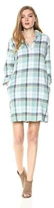 Pendleton Women's Popover Cotton Plaid Dress