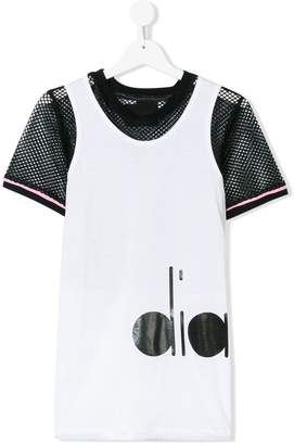 Diadora Junior mesh panels T-shirt