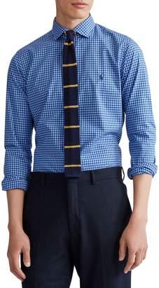 Polo Ralph Lauren Slim-Fit Plaid Cotton Poplin Button-Down Shirt