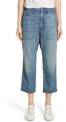 Nili Lotan Luna Crop Jeans
