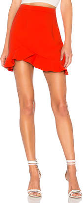 by the way. Milan Ruffle Mini skirt