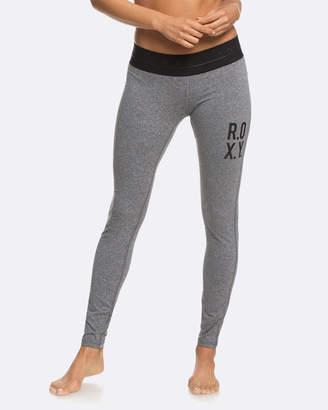 Roxy Womens Fields Of Gold Sporty Leggings
