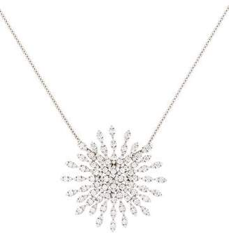 Crivelli 18K Diamond Starburst Pendant Necklace