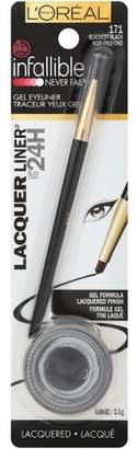 L'Oreal Infallible Lacquer Liner 171 Blackest Black .08oz