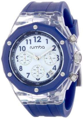 RumbaTime Men's Mercer Denim 45mm Dial Watch