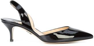 Paul Andrew pointed toe slingback pumps