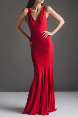 Zac Posen Fantasctic Red Gown