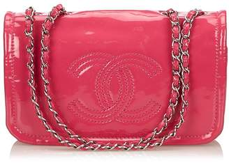 Chanel Vintage Patent Leather Chain Shoulder Bag ec7d69619ff4d