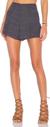 House of Harlow x REVOLVE Grace Tie Waist Short $168 thestylecure.com