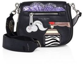 Marc Jacobs Marc Jacobs Verhoeven Small Nomad Leather Crossbody Bag