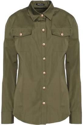 Balmain Button-Detailed Cotton-Poplin Shirt