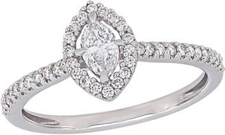 Affinity Diamond Jewelry Affinity 4/10 cttw Diamond Marquise Ring, 14K