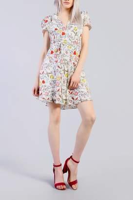 Glamorous Spring Floral Dress
