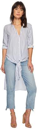 Bishop + Young Stripe Front Tie Tunic Women's Clothing