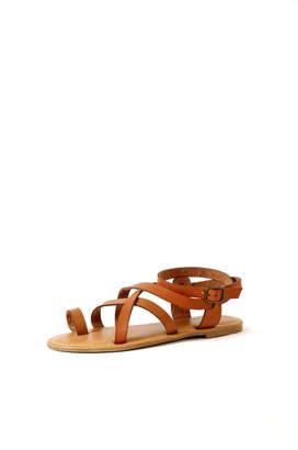 Bamboo Coastline Strap Sandal $24 thestylecure.com