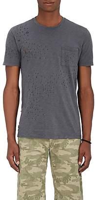 Barneys New York Men's Distressed Cotton T-Shirt