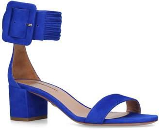 Aquazzura Suede Casablanca Sandals 50
