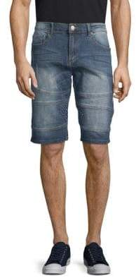 X-RAY Jeans Moto Jean Shorts