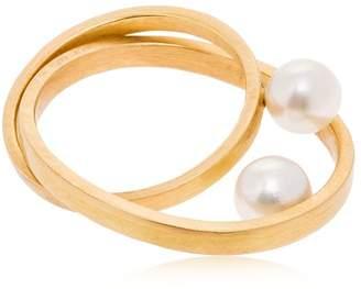 Lia Di Gregorio Planets Ring W/ Pearls