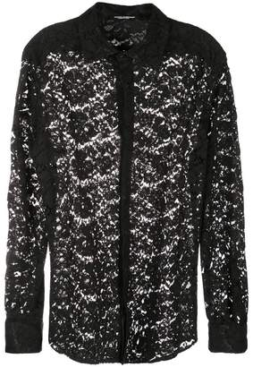 Dolce & Gabbana classic lace shirt