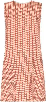 Valentino A-Line Printed Dress
