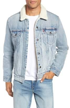 Levi's Type 3 Faux Shearling Trucker Jacket
