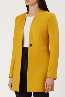 Next Womens Hobbs Yellow Elysia Coat