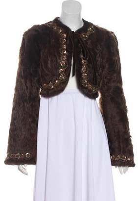 Andrew Gn Long Sleeve Chekiang Lamb Jacket w/ Tags
