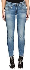 R 13 Women's Boy Skinny Jeans - Md. Blue