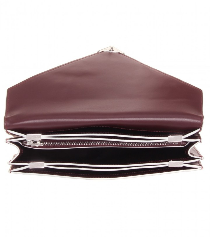 Alexander Wang Prisma leather clutch