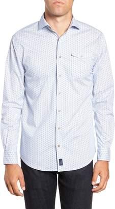 johnnie-O Bassett Classic Fit Sport Shirt