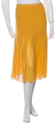 Paul Smith Pleated Mini Skirt $55 thestylecure.com