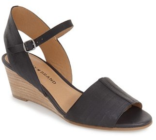 Lucky Brand 'Jimbia' Wedge Sandal $78.95 thestylecure.com