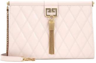 Givenchy Gem Medium quilted leather clutch