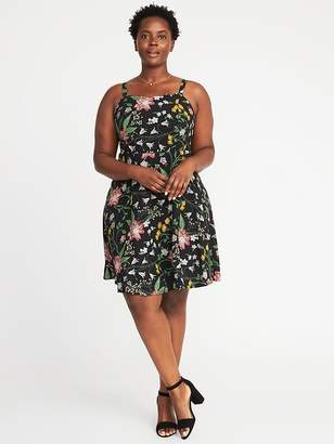 Old Navy Fit & Flare Plus-Size Cami Dress