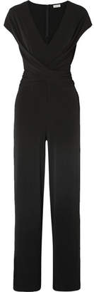 By Malene Birger Jaxia Stretch-jersey Jumpsuit - Black