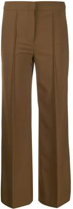 Schumacher Dorothee mid-rise flared trousers