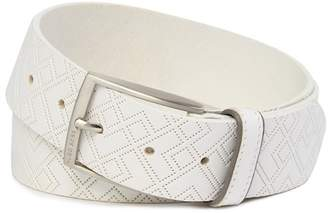 BOSS Trovor Geo Leather Belt